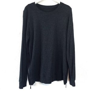 Urban Outfitters Gray Zip Side Long Sleeve Small